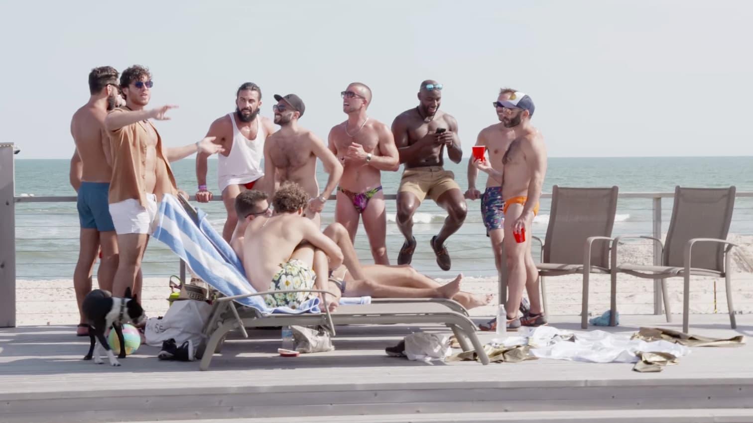 Fire Island Nude Beach Party