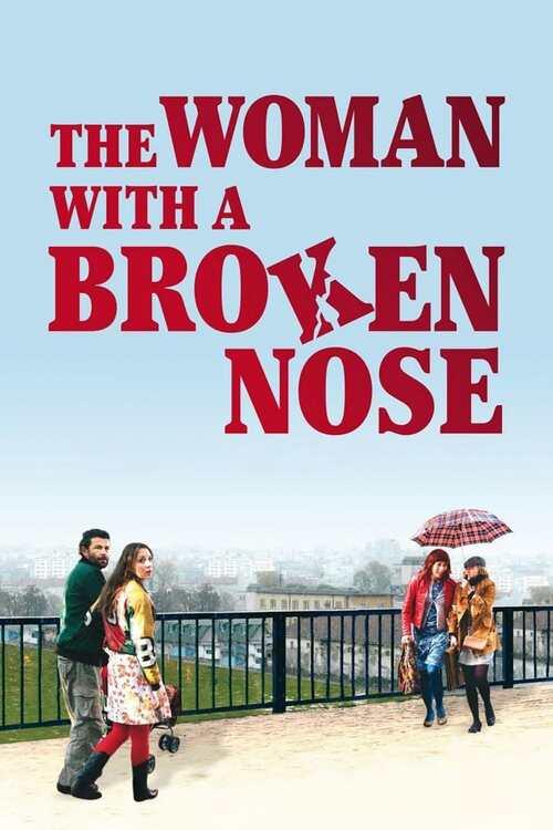 Žena sa slomljenim nosem