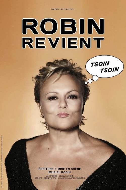 Muriel Robin - Robin revient, tsoin, tsoin