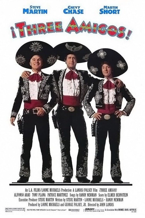 ¡Three Amigos!