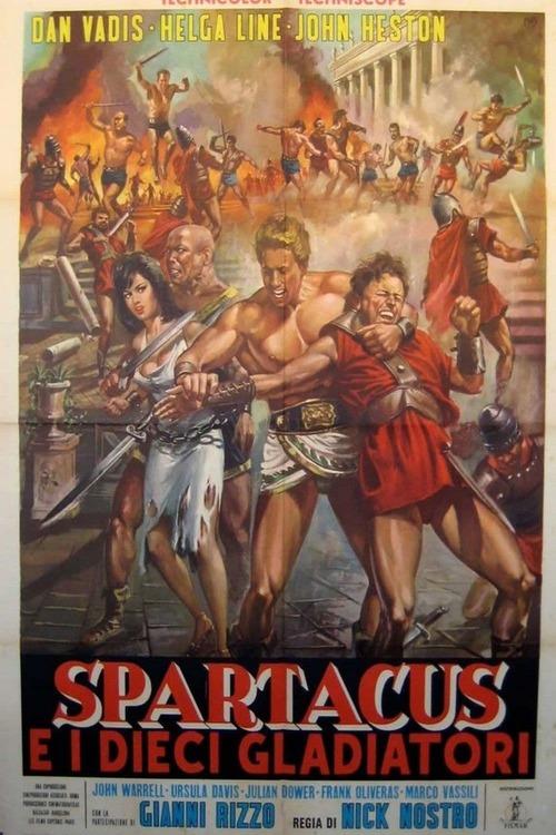 Gli invincibili dieci gladiatori