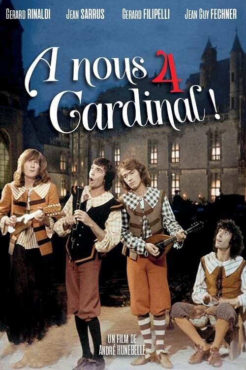 Les Charlots en folie : À nous quatre cardinal !