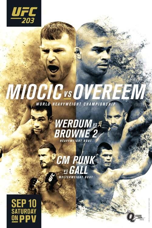 UFC 203: Miocic vs. Overeem