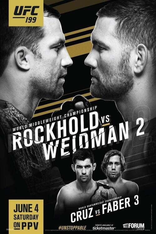 UFC 199: Rockhold vs. Bisping 2