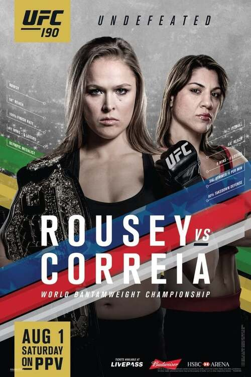 UFC 190: Rousey vs. Correia