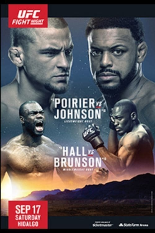 UFC Fight Night 94: Poirier vs. Johnson
