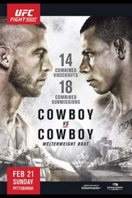 UFC Fight Night 83: Cowboy vs. Cowboy