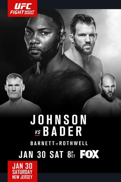 UFC on Fox: Johnson vs. Bader