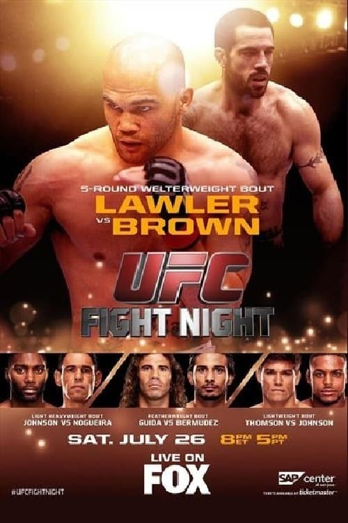 UFC on Fox 12: Lawler vs. Brown