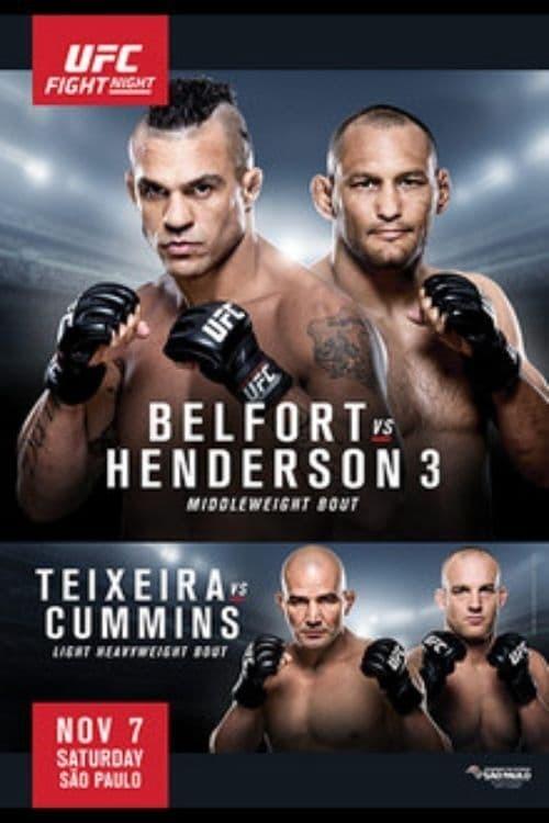 UFC Fight Night 77: Belfort vs. Henderson 3