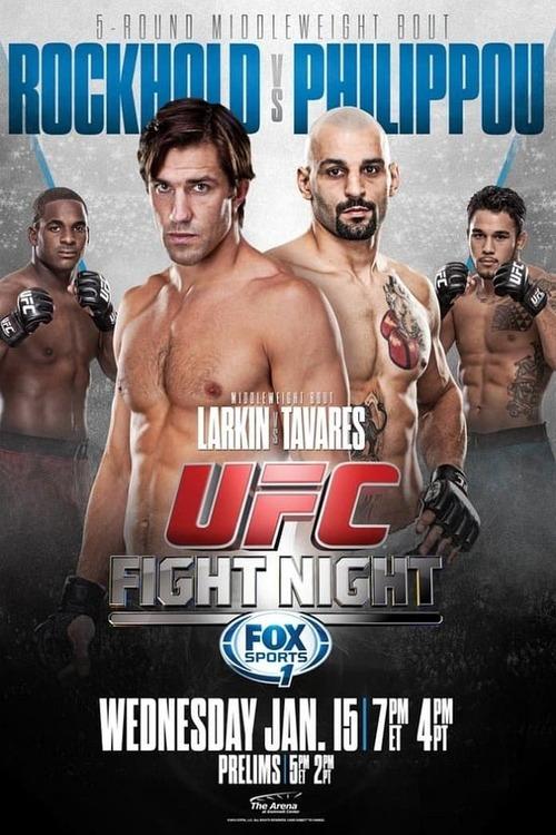 UFC Fight Night 35: Rockhold vs. Philippou