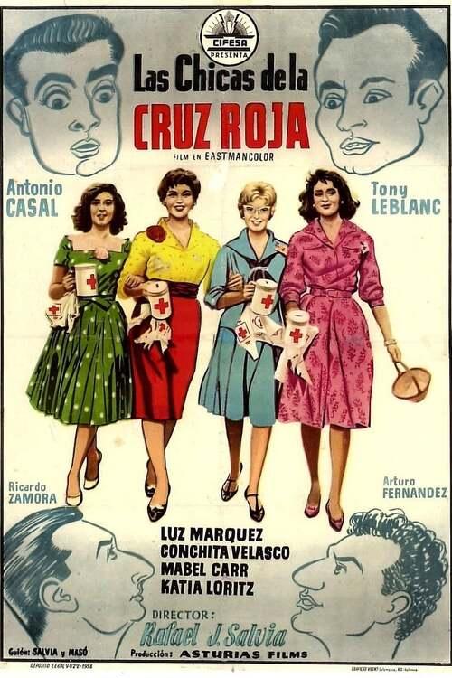 Las chicas de la Cruz Roja