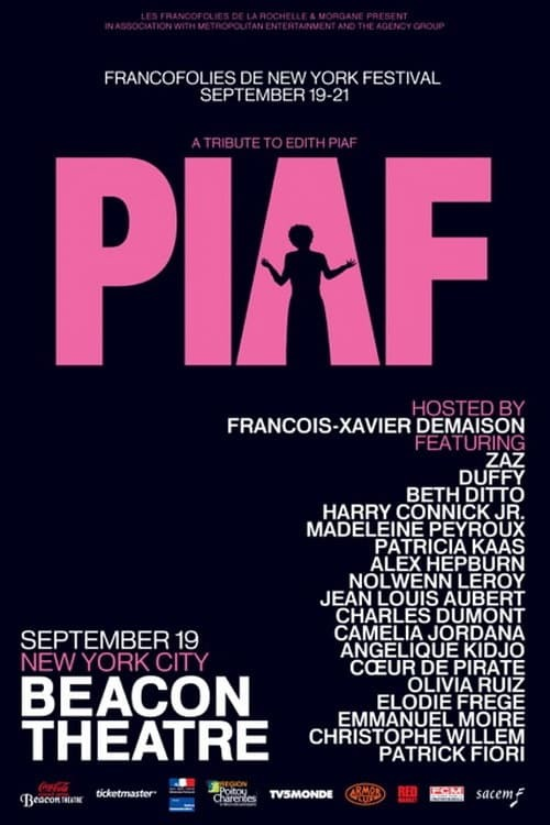 Piaf, Hymnes à la Môme au Beacon Theatre, New York