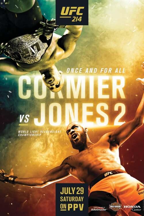 UFC 214: Cormier vs. Jones 2