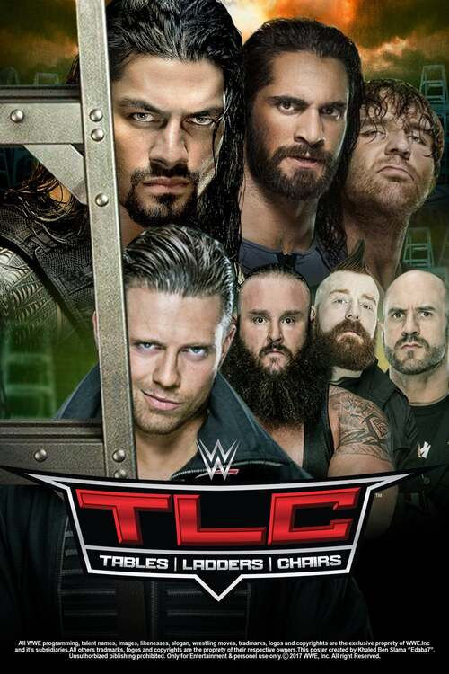 WWE TLC: Tables Ladders & Chairs 2017