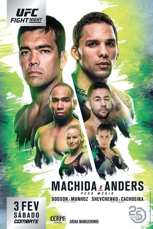 UFC Fight Night 125: Machida vs. Anders
