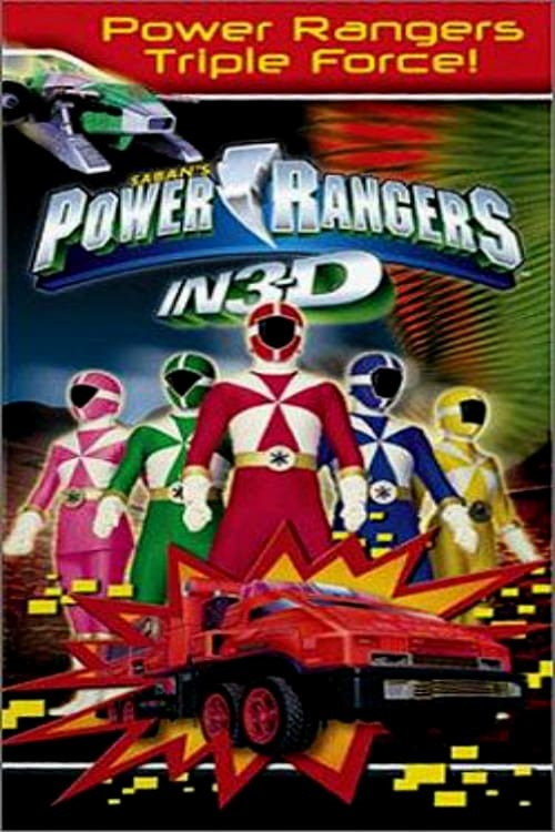 Power Rangers in 3D: Triple Force!