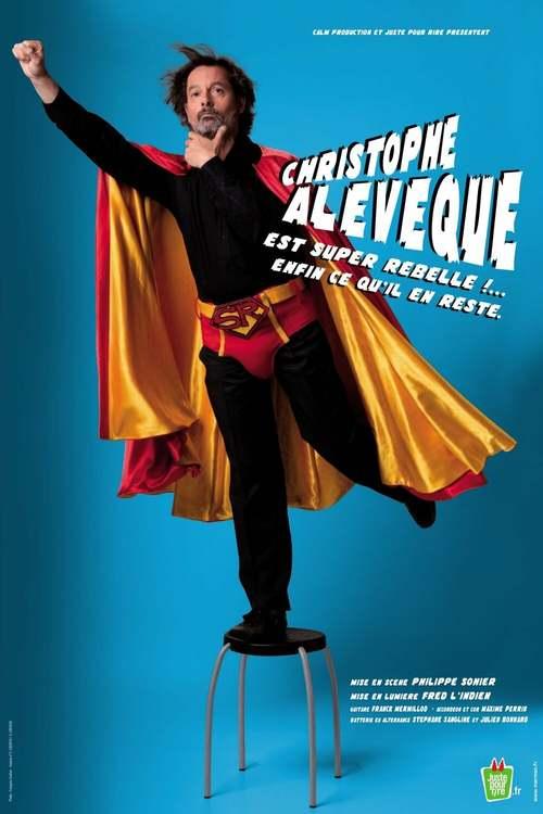 Christophe Alévêque est super rebelle !... enfin ce qu'il en reste !