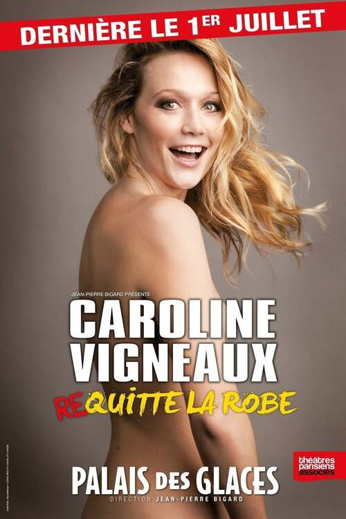 Caroline Vigneaux quitte la robe