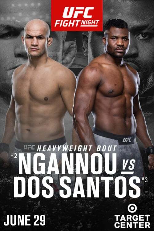 UFC on ESPN 3: Ngannou vs Dos Santos