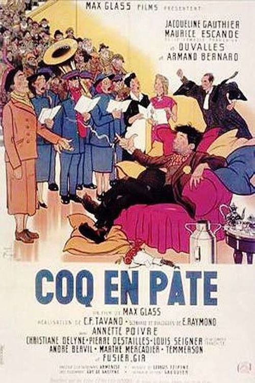 Coq en pâte