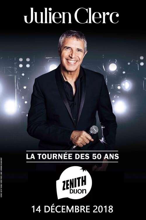 Julien Clerc - La tournée des 50 ans
