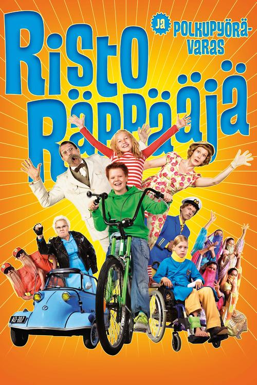 Risto Räppääjä ja polkupyörävaras